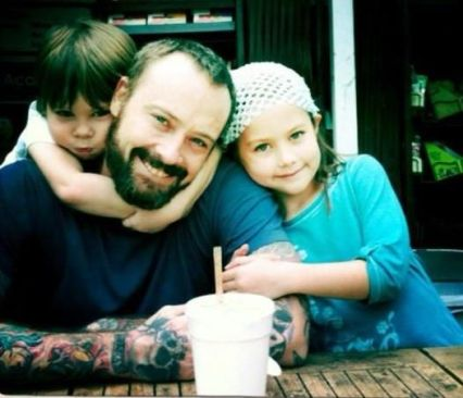 Steve and kids